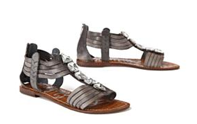 Jeweled Lintel Sandals