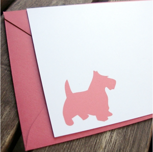 Silhouette Stationery