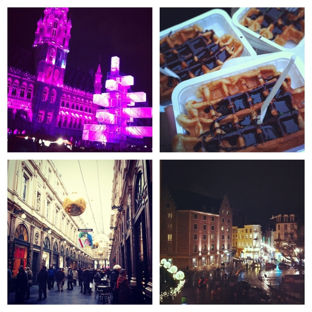Brussels Instagram Collage