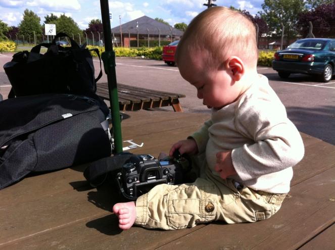 Baby and Camera
