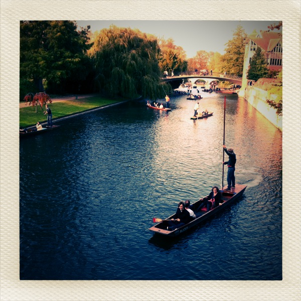 Punting on River Cam