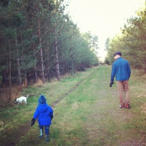 The Boys on a Walk