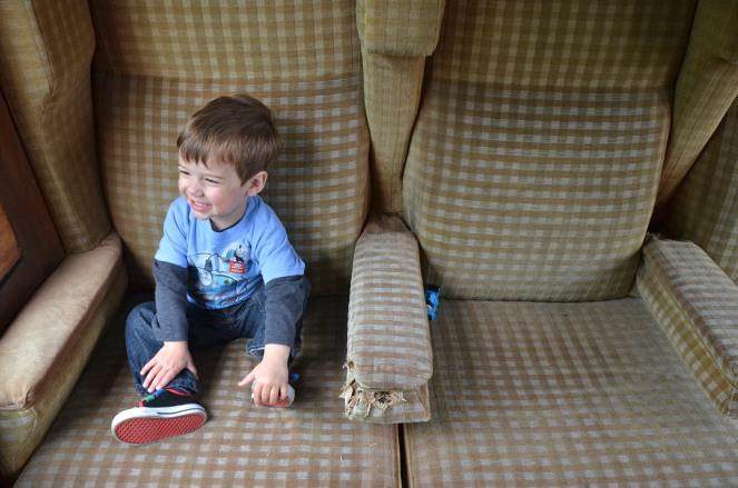 Thomas train ride