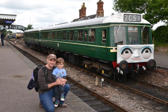 Daisy the Diesel Passenger Train