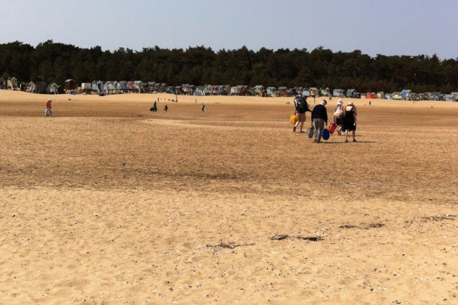 Wells Huts and Beach