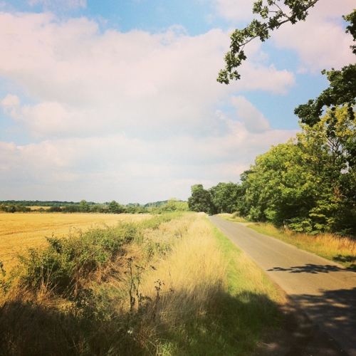 C road Suffolk