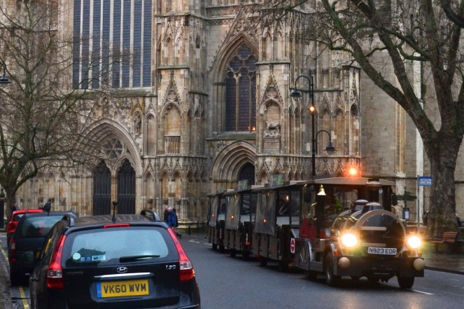York Minster Road Train