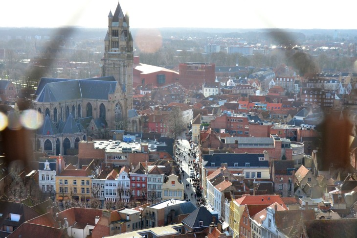 View of Bruges