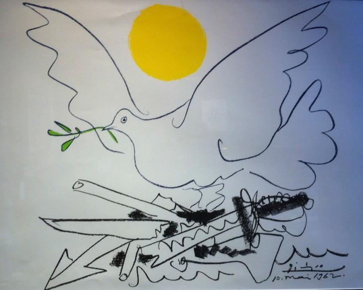 Picasso Peace Dove