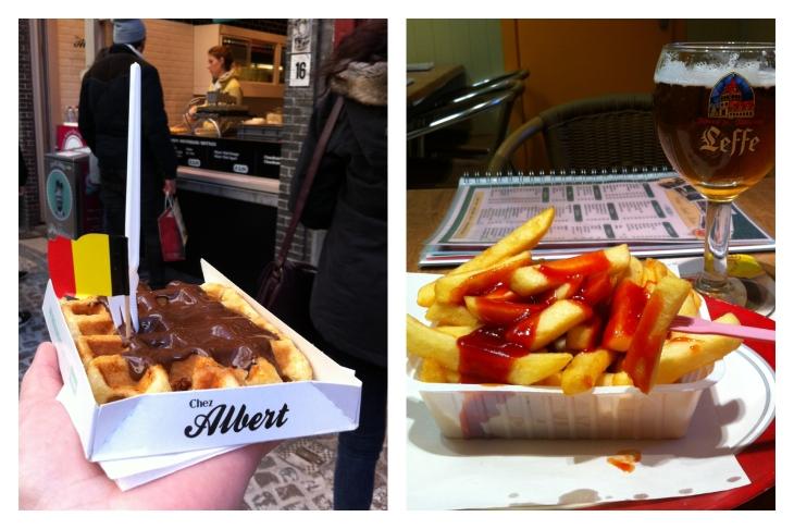 Belgian Waffle & Frites