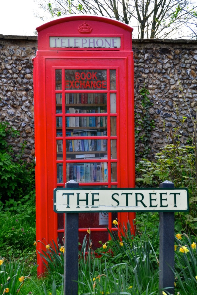 telephone booth book exchange great livermere
