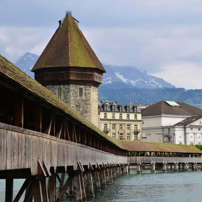 Lucerne Wooden Bridge