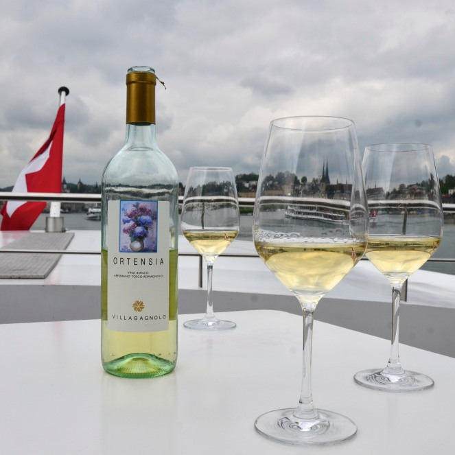 Wine on a Boat