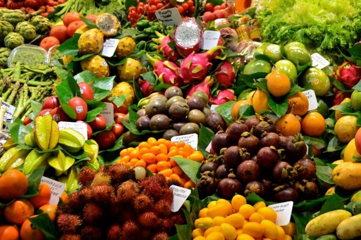 Fresh Fruit La Boqueria