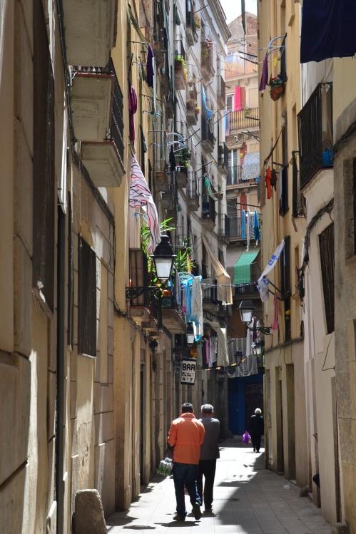 Barcelona Side Street