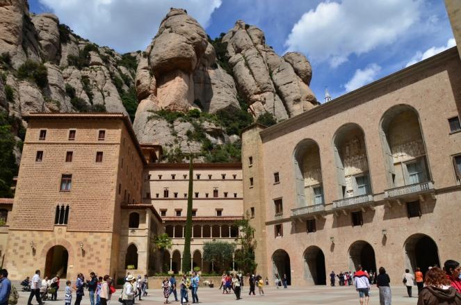 Monastery at Montserrat