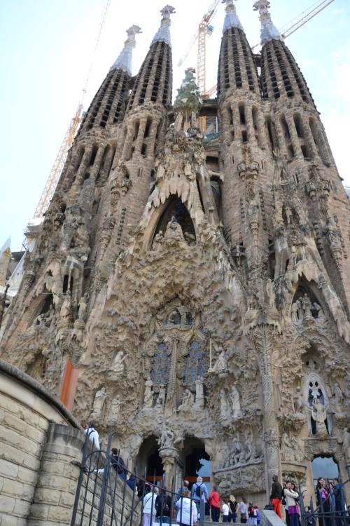 La Sagrada Familia Nativity Facade
