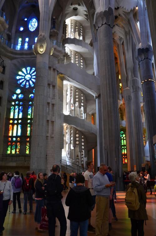 La Sagrada Familia Stairs