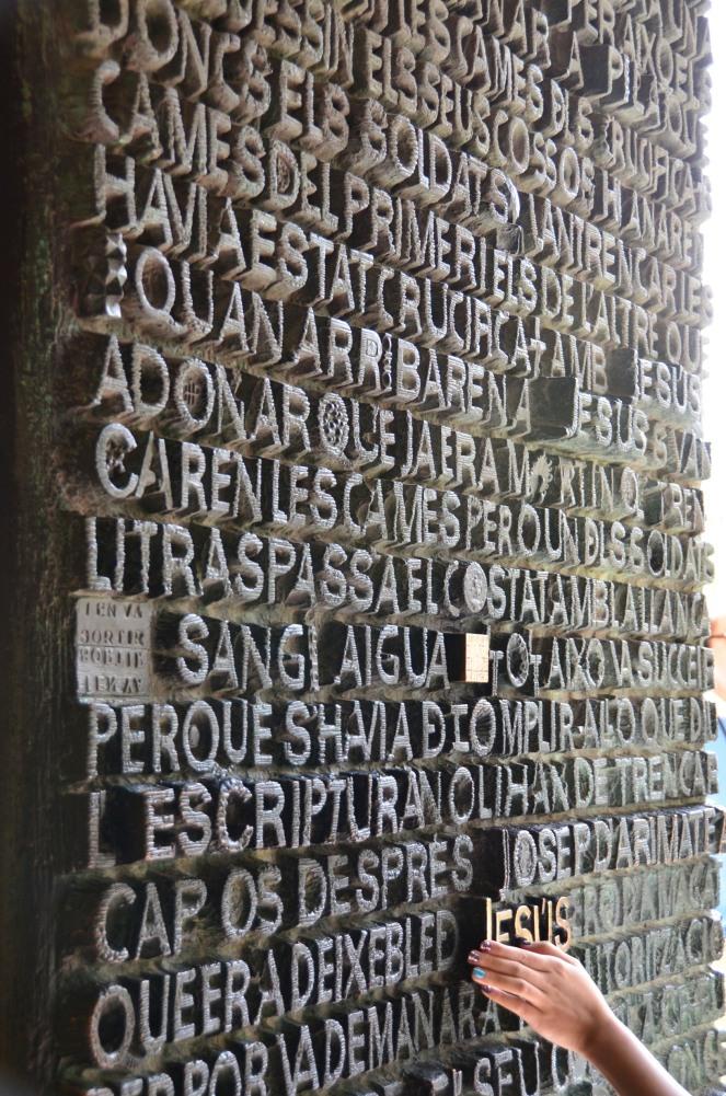La Sagrada Familia Door - Jesus