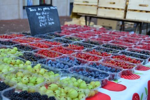 Table of Berries