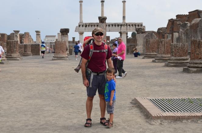 Fam at Pompeii