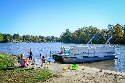 Pontoon-Lake Shafer