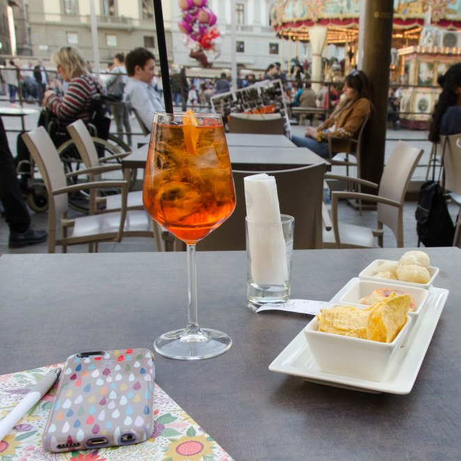 Uno Spritz in Florence