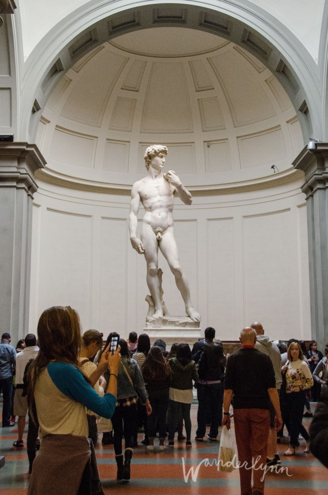 Michelangelo's David Galleria