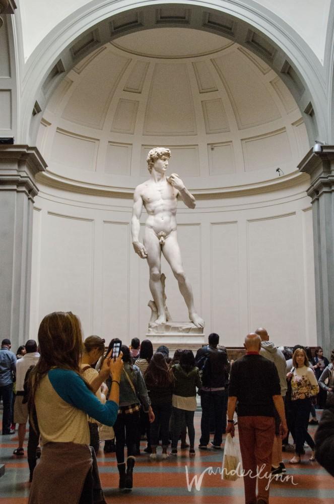 Michelangelo's David Galleria