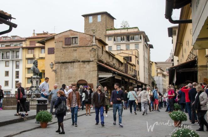 Florence Arno Ponte Vecchio