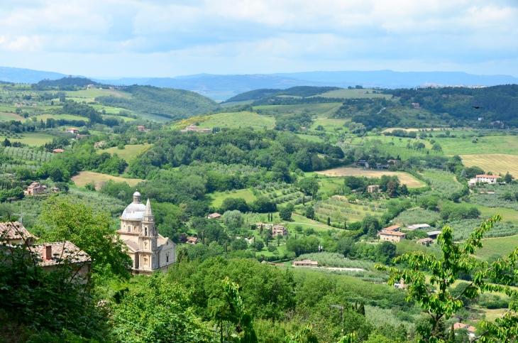 Tuscany from Montepulciano