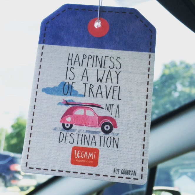 Happiness is a way of travel not a destination