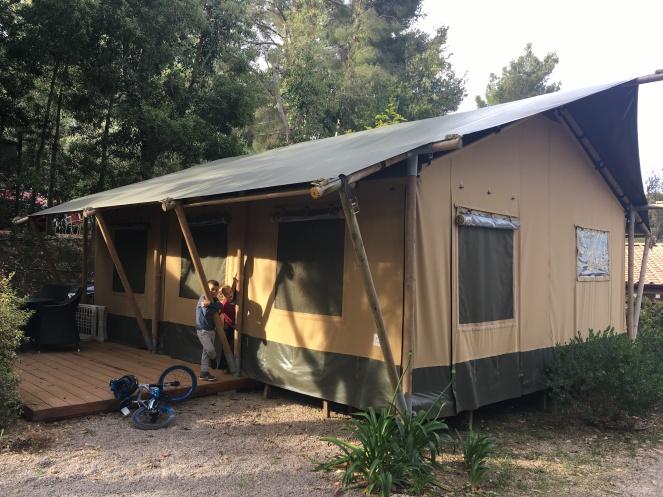 Safari Tent Campeggio Rosselba