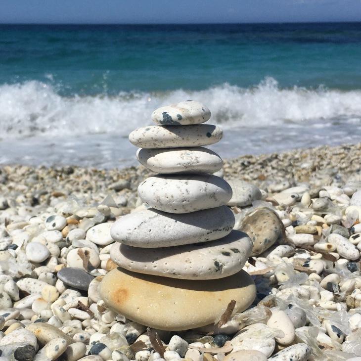 Beach Stone Stack